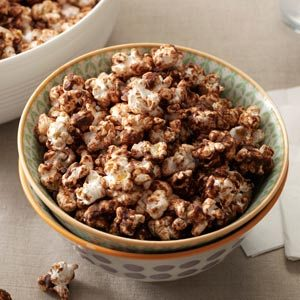 Chocolate-Mint Popcorn Recipe