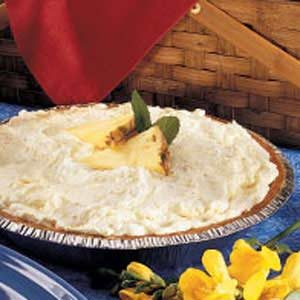Pineapple Fluff Pie Recipe