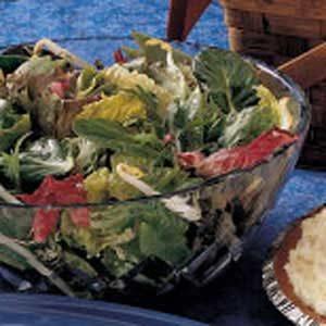 Asian Bean Tossed Salad Recipe