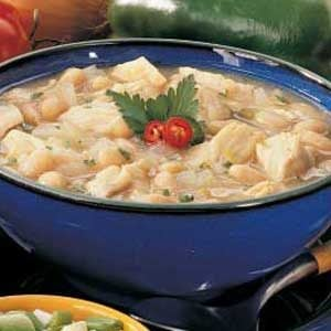 White Chili with Chicken Recipe