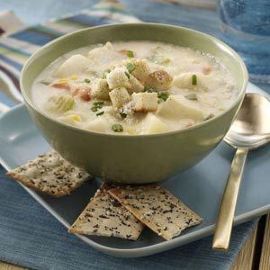 Halibut & Potato Chowder