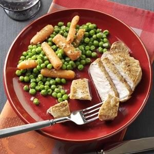 Savory Peas and Carrots Recipe