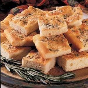 Focaccia Bread Squares Recipe
