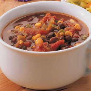Texas Black Bean Soup Recipe
