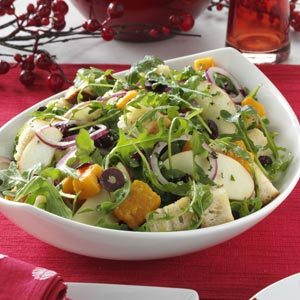 Winter Panzanella with Apple Dressing Recipe