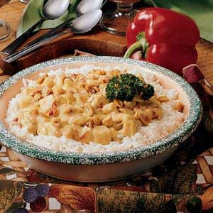 Turkey in Curry Sauce Recipe