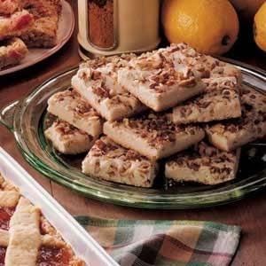 Lemon Shortbread Squares Recipe