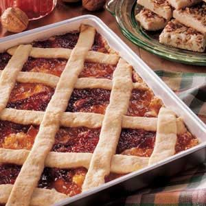 Lattice Fruit Bars Recipe