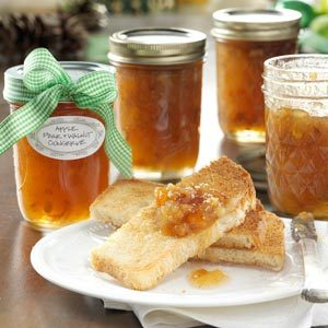 Apple Pear & Walnut Conserve Recipe