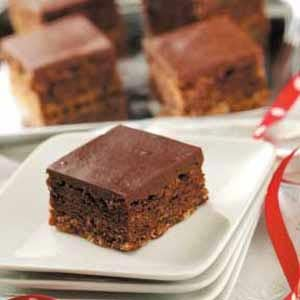 Three-Layer Chocolate Brownies Recipe