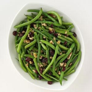 Green Bean and Walnut Salad Recipe