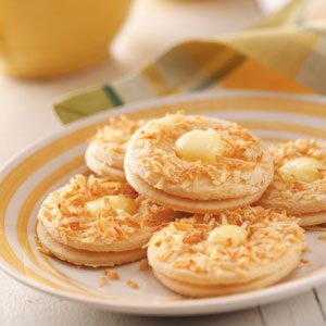Coconut Lemon Crisps Recipe