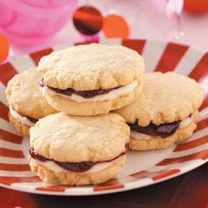 Raspberry Coconut Cookies Recipe