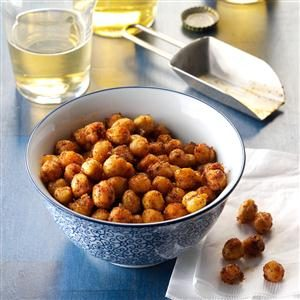 Watch Us Make: Chili-Lime Roasted Chickpeas