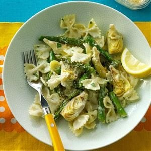 Artichoke & Lemon Pasta Recipe
