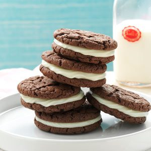 Quick Chocolate Sandwich Cookies Recipe