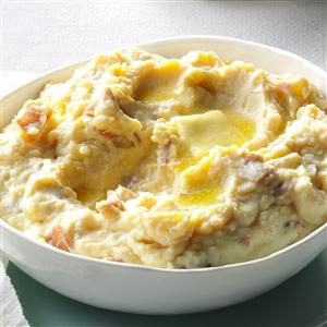 Rich & Creamy Parmesan Mashed Potatoes Recipe