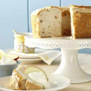 Apple-Spice Angel Food Cake Recipe