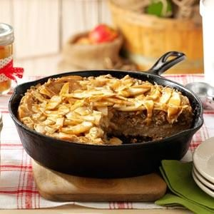 Caramel-Apple Skillet Buckle Recipe
