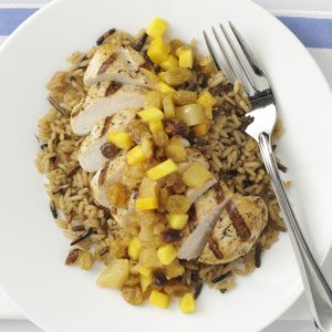 Pineapple-Mango Chicken Recipe