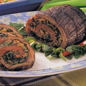 Spinach-Stuffed Steak Recipe