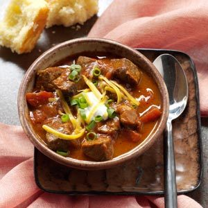 Zesty Steak Chili