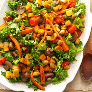 My Underground Vegetable Salad Recipe