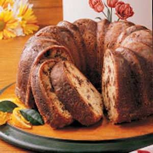 Orange Date Pound Cake Recipe