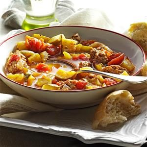 Hearty Minestrone Soup Recipe