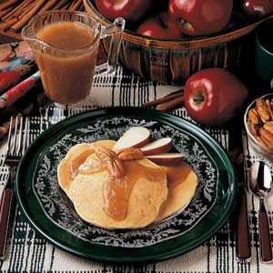 Apple Pecan Pancakes Recipe