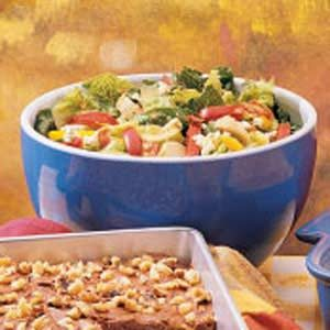 Potluck Artichoke Tossed Salad Recipe