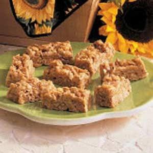 No-Bake Sunflower Bars Recipe