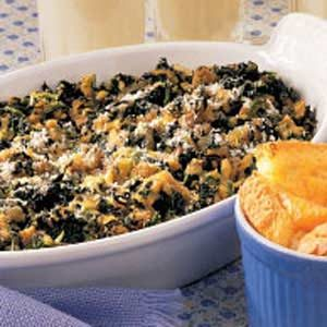 Spinach Bake with Sausage Recipe