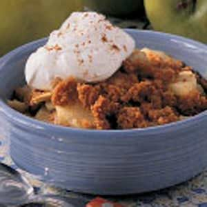 Graham Cracker Apple Crisp for Two Recipe