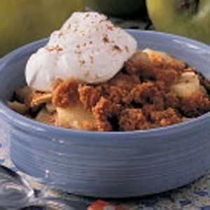Graham Cracker Apple Crisp for Two Recipe