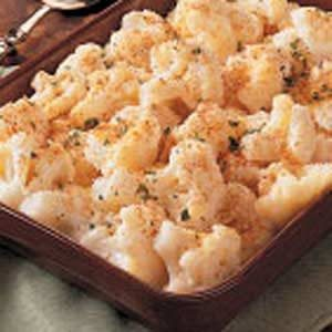 Creamed Cauliflower Recipe