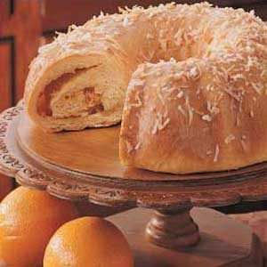 Orange Swirl Coffee Cake Recipe