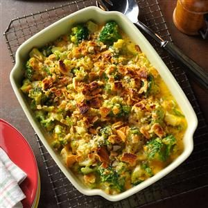 Crumb-Topped Broccoli Bake Recipe