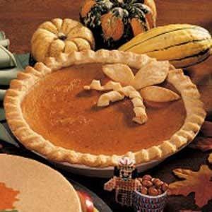 Honey Pumpkin Pie Recipe
