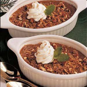 Pumpkin Streusel Custard Recipe