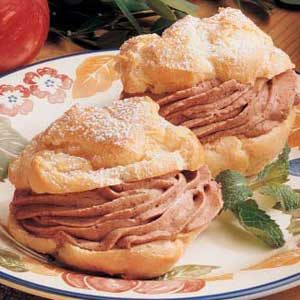 Mocha Cream Puffs Recipe