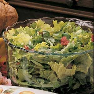 Greens with Citrus Dressing Recipe