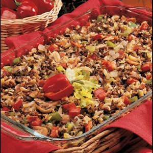 Contest-Winning Mushroom Wild Rice Recipe