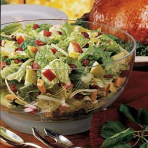 Contest-Winning Festive Tossed Salad Recipe