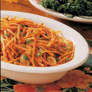 Carrots in Almond Sauce Recipe