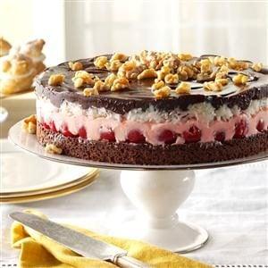 Cherry-Coconut Chocolate Torte Recipe