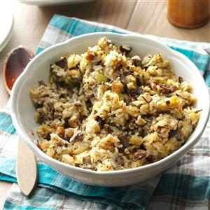 Wild Rice Stuffing Recipe