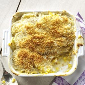 Sweet Corn and Potato Gratin Recipe