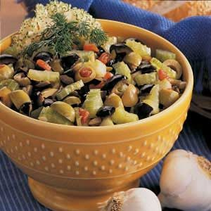 Olive Lover's Salad Recipe