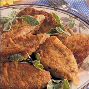Breaded Steaks Recipe